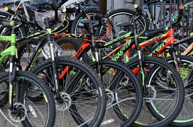 wybór rowerów sklep